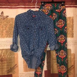 LulaRoe kids L/XL leggings Outfit ( 8 and up)